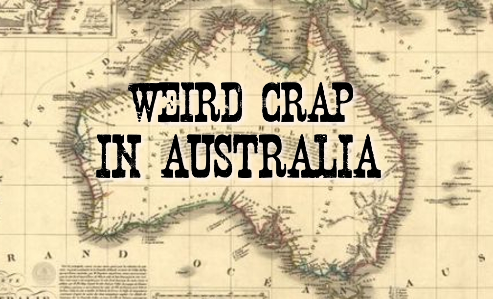 Weird Crap In Australia Website Logo